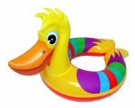 inflatable swim ring with duck shape