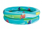 2 rings inflatable pool