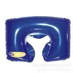 inflatable pvc pillow with U shape