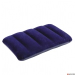 inflatable square flocked pillow