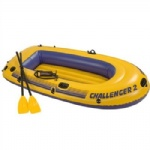 inflatable boat with handles